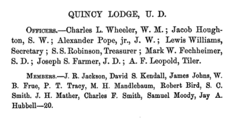 Transactions of the Grand Lodge of Free and Accepted Masons, of the State of Michigan, at Its Annual Communication, 1861, pg. 71
