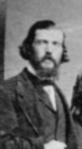 Detail of Benjamin Armstrong from a photograph by Matthew Brady (Minnesota Historical Society)