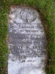 Michel Cadotte ~ Findagrave.com